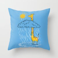The Perks Of Being A Gir… Throw Pillow