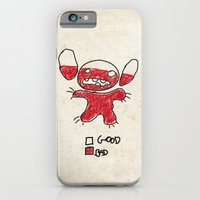 iPhone Cases featuring Stitch good&bad meter.... by Emiliano Morciano (Ateyo)