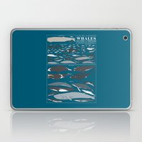 A SEA FULL OF CETACEANS: WHALES, DOLPHINS, AND PORPOISES Laptop & iPad Skin
