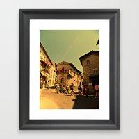 La Bella Italia. Framed Art Print