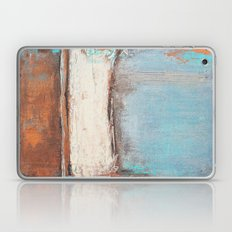 Copper and Blue Abstract Laptop & iPad Skin