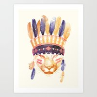 Big Chief Art Print