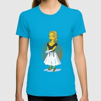 Golden Age: Grace Womens Fitted Tee Teal SMALL