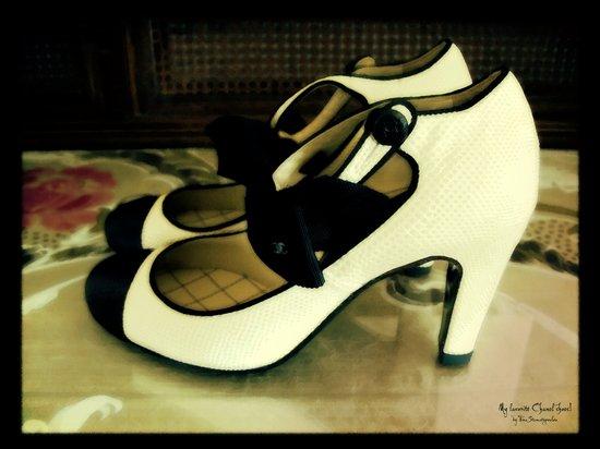 Shoes - Chanel I Art Print