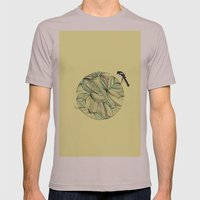 Magpie Mens Fitted Tee Cinder SMALL