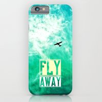 iPhone Cases featuring Fly Away - for iphone by Simone Morana Cyla