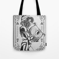 Legend Of Zelda Shiek Pr… Tote Bag