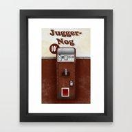 Jugger-Nog Framed Art Print