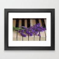 Piano Keys  Framed Art Print