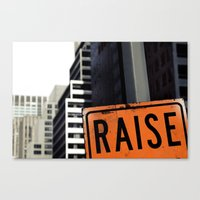 Raise Canvas Print