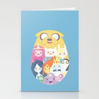 adventure Stationery Cards featuring Adventure by Eva Puyal