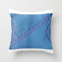 Internity or Circle of life Throw Pillow