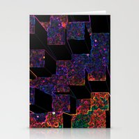 Electric Cubes  Stationery Cards