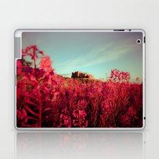 Early morning, Bamburgh castle Laptop & iPad Skin