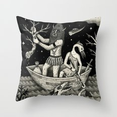 The Acquisition Throw Pillow