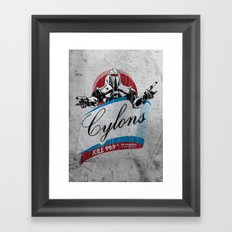 Cylons Huminfectant Spray  Framed Art Print