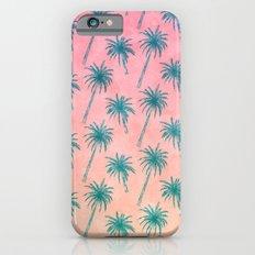 Palm Tree Pattern iPhone 6s Slim Case