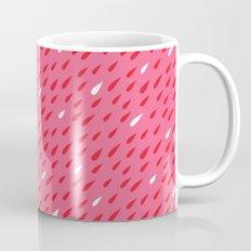Red + Pink Droplets Mug