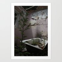 Bath Time... Art Print