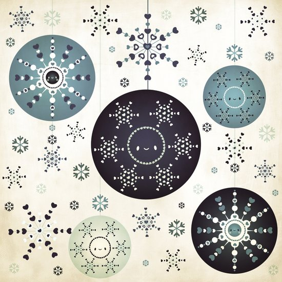 Snowflakes Part Deux Canvas Print