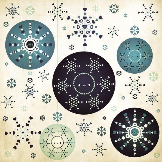 Snowflakes Part Deux Art Print