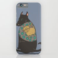 Black Dog In A Kitten Co… iPhone 6 Slim Case