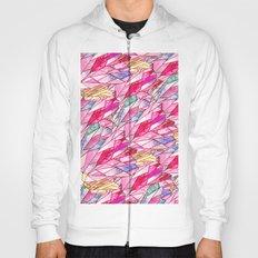 Crystal pattern Hoody