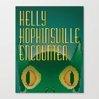 Kelly Hopkinsville Encounter Canvas Print