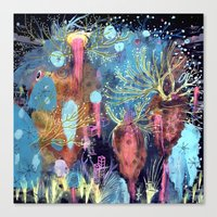 Space Hive Canvas Print