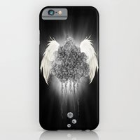 iPhone & iPod Case featuring Angel of the chaos by gwenola de muralt