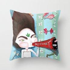 Ta Throw Pillow