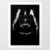 Vader Art Print