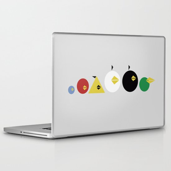 Angry Less Laptop & iPad Skin