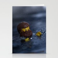 Sink Or Swim Stationery Cards