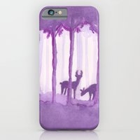 iPhone & iPod Case featuring a forest by Federico Faggion