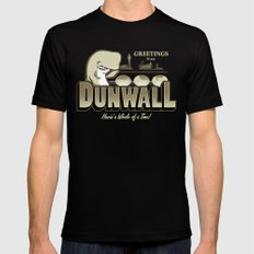 Greetings from Dunwall SMALL Black Mens Fitted Tee