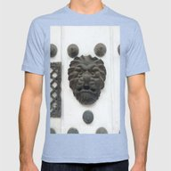 Cartagena Lion Mug, Colo… Mens Fitted Tee Tri-Blue SMALL