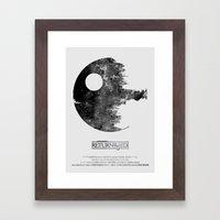 Star Wars - Return Of Th… Framed Art Print