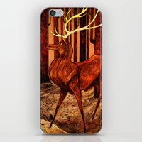 La Majesté du Cerf (The Proud Stag) iPhone & iPod Skin