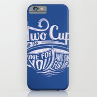 Two cups of tea iPhone 6 Slim Case
