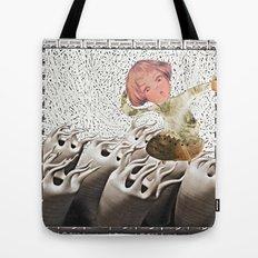 lil cyborg Tote Bag
