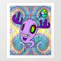 Feel The Rainbow Art Print