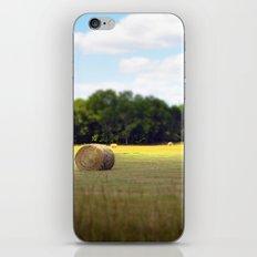 Happy Hayfield iPhone & iPod Skin