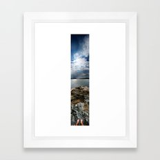 Sweden - Vertical Panorama Framed Art Print