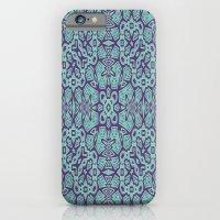 Ethnic Geo Teal & Plum iPhone 6 Slim Case