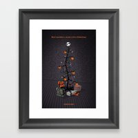The Nightmare Before Christmas Promo Poster Framed Art Print