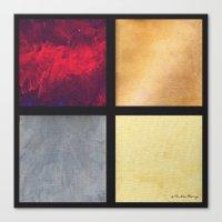 Four Squares 001 Canvas Print