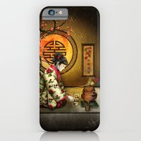 Camellia Tea iPhone 6 Slim Case