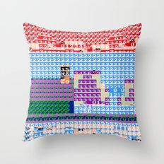 > NES v3 Throw Pillow