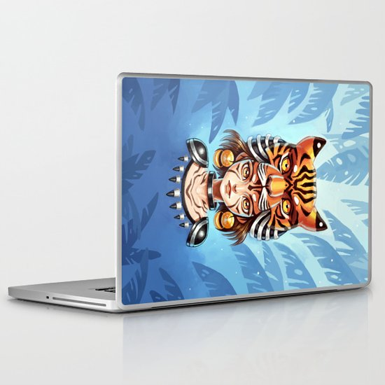 Tiger Tribe Laptop & iPad Skin